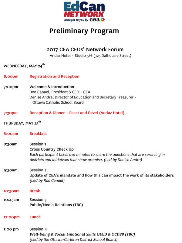 program, page 1