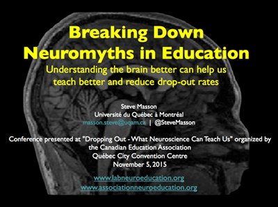 neuromyths in education