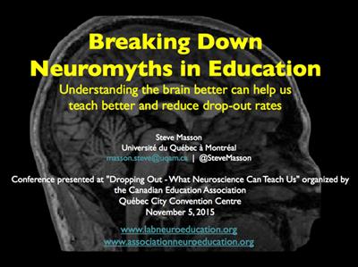 neuromyths in education