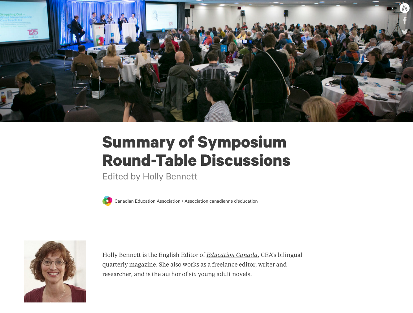 symposium summary