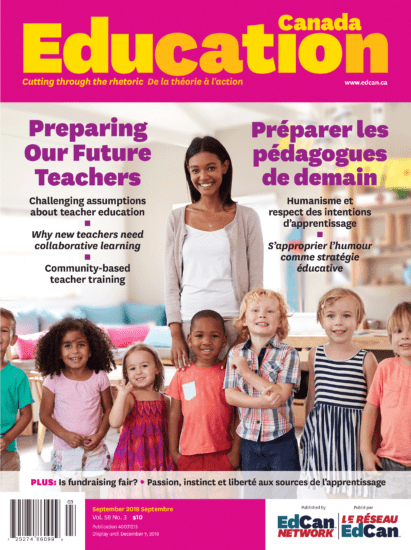Education Canada Magazine Fall Issue Cover