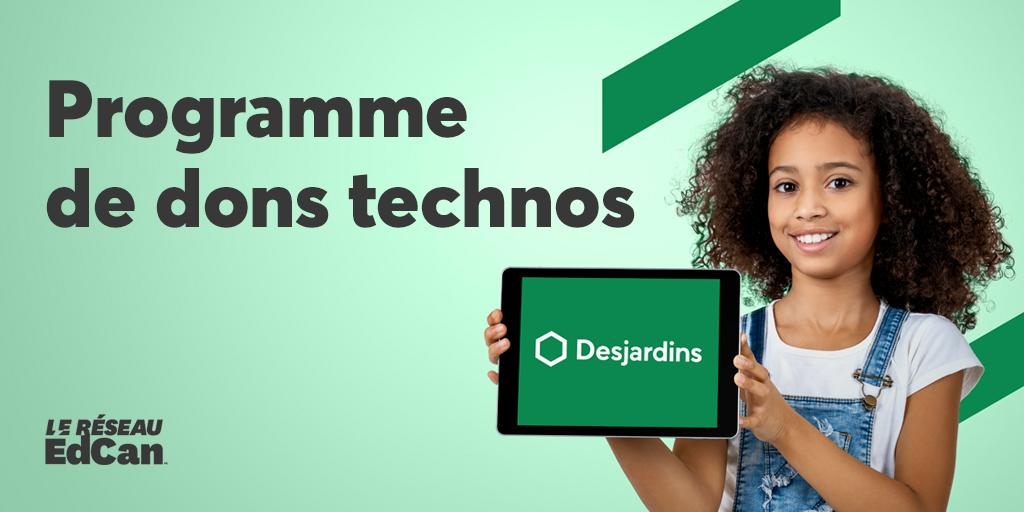 Programme de dons technos