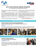 2019 KEN SPENCER AWARD-WINNERS