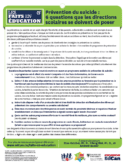 6 questions prévention suicide