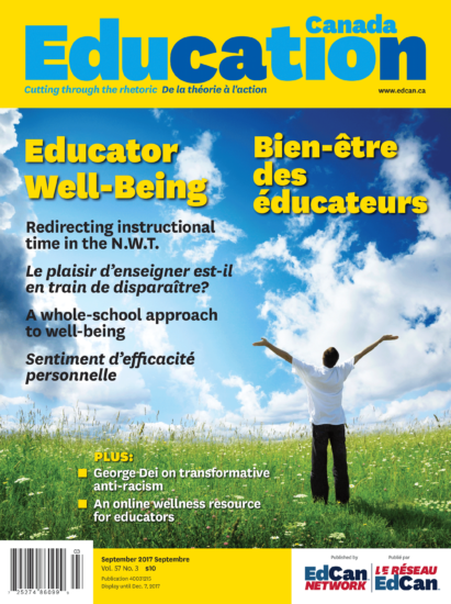Bien-être des éducateurs Educators Well-Being