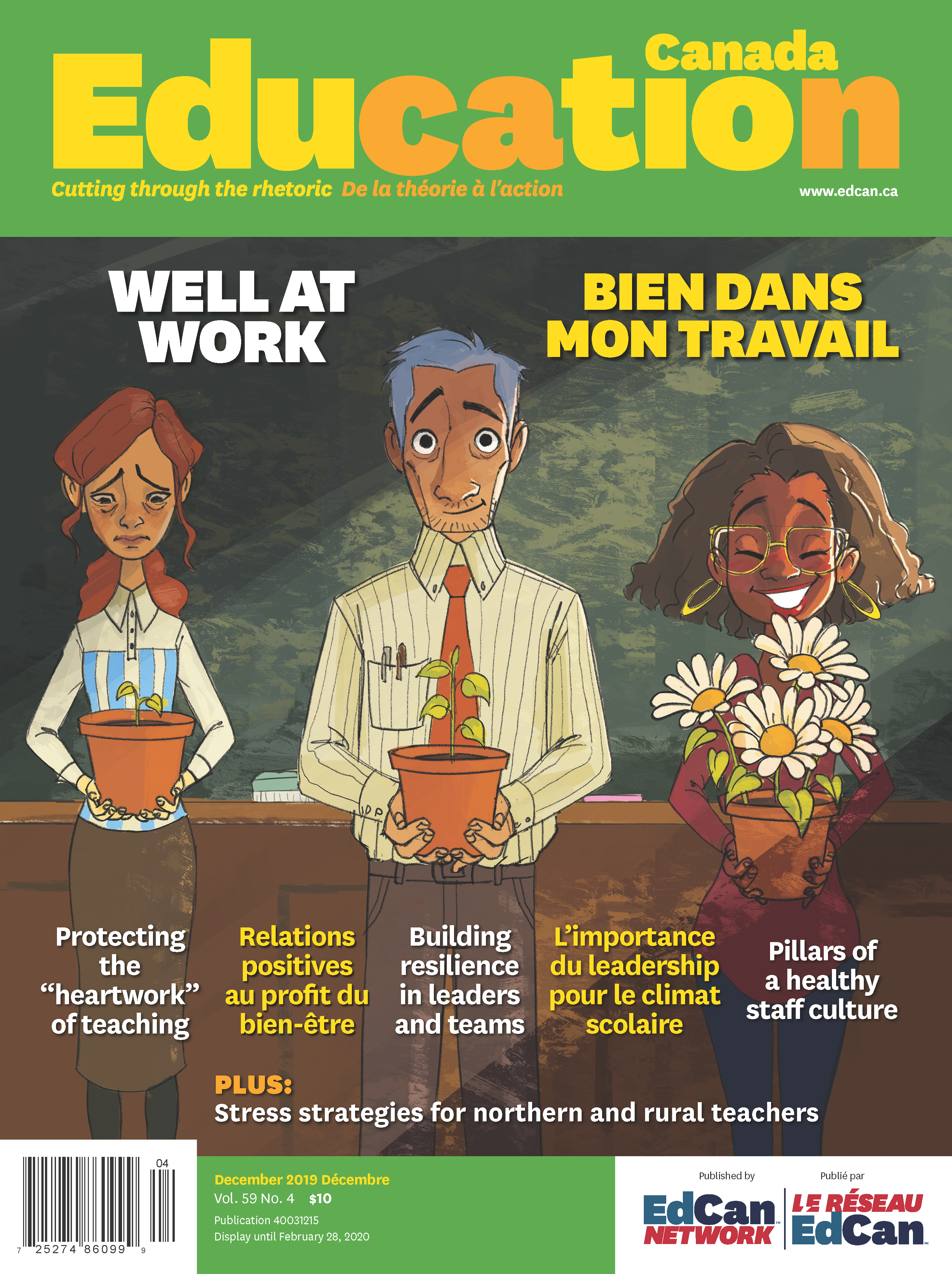 Education Canada Well at Work Cover image