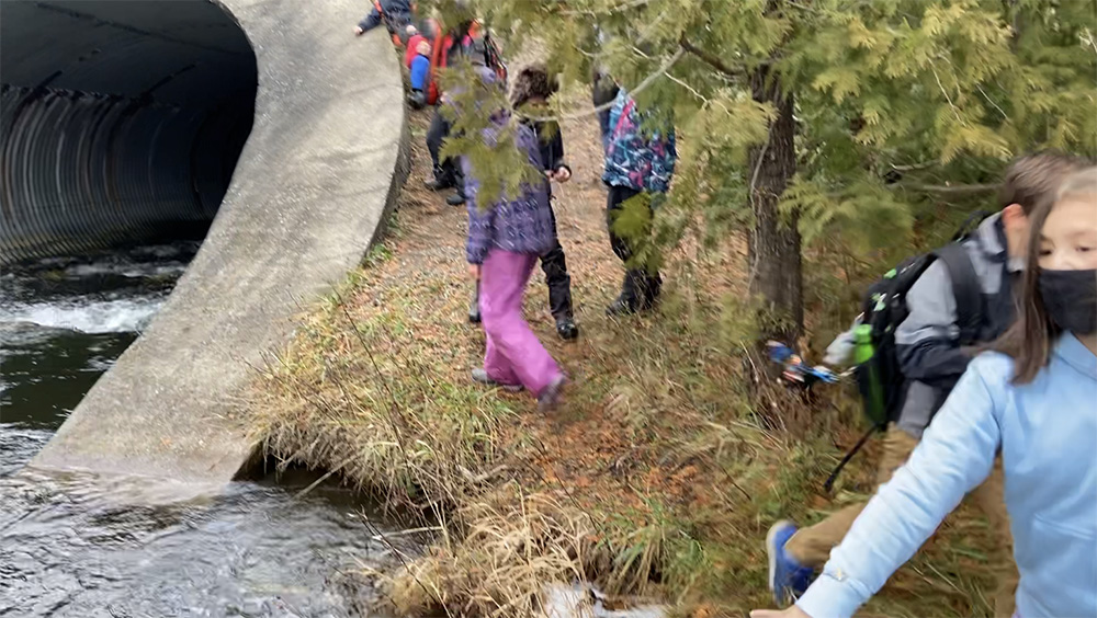 Photo of children near a body of water
