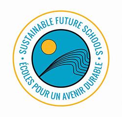 Logo for Sustainable Future Schools / Logo des Écoles pour un avenir durable