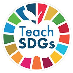 The logo of TeachSDGs