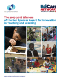 Ken Spencer Award Winners