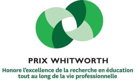 prix whitworth en éducation