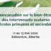 Page Web - Sommet pancanadien sur le bien-être au travail en milieu scolaire 11 au 13 mai 2020 Edmonton (Alberta)