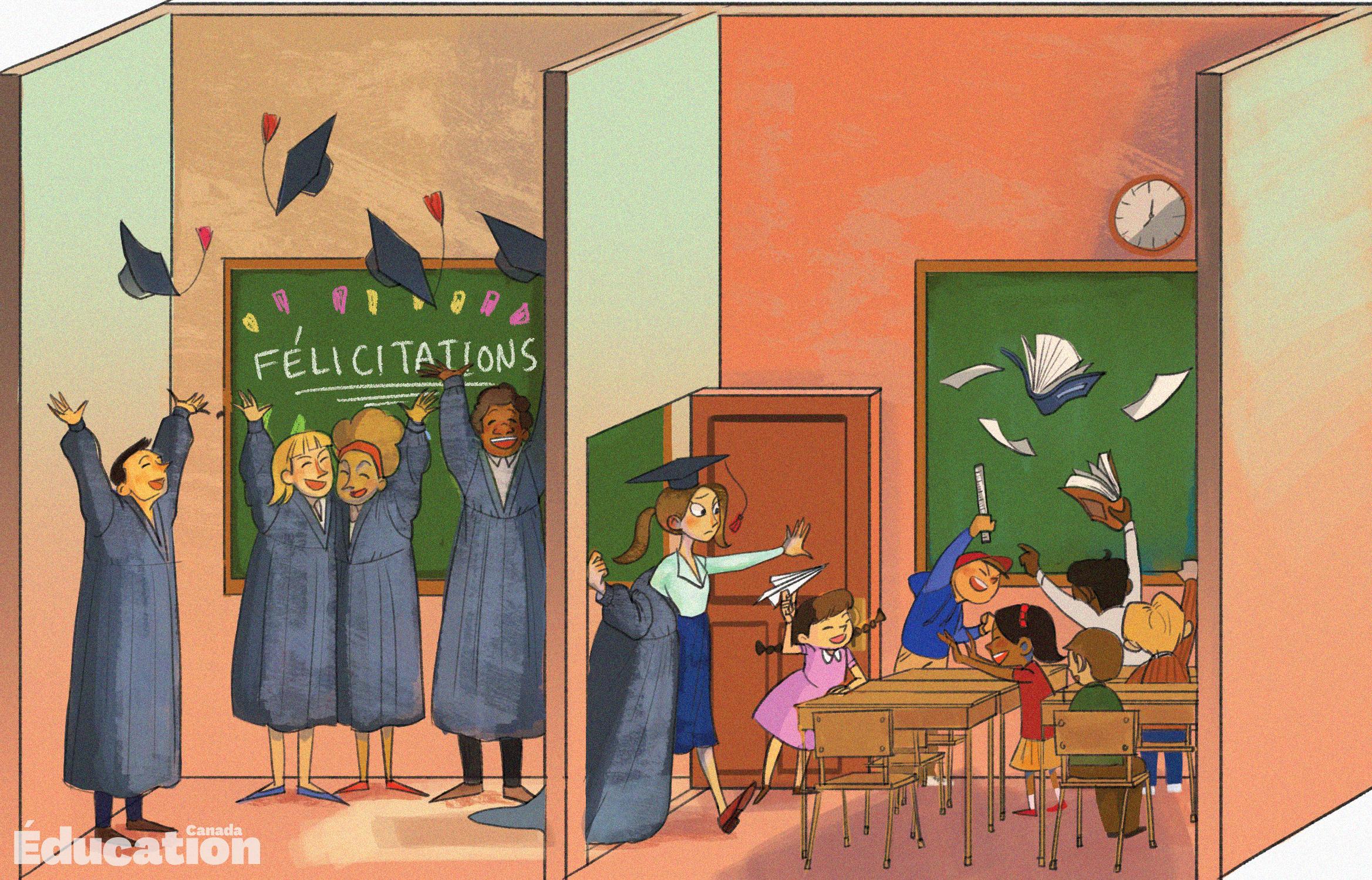 Bien-être psychologique des futurs enseignants
