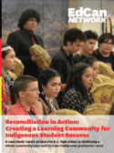 Reconciliation in Action: Creating a Learning Community for Indigenous Student Success report cover