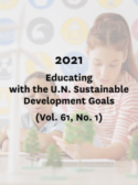 2021, Educating with the U.N. Sustainable Development Goals, (Vol. 61, No. 1)
