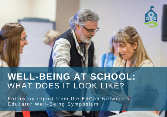 Well-Being at school: what does it look like