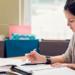 La gestion comptable et éducation - leader qui travaille