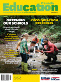 Greening our schools magazine cover