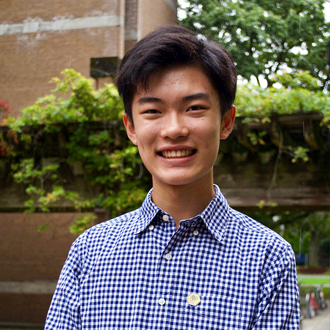 Jason Pang, 17, is a veteran of student environmental work