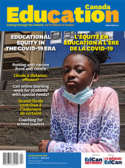 Cover of Education Canada, volume 60, issue 4. La couverture d'Éducation Canada, volume 60, numéro 4.